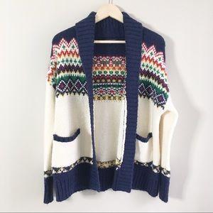 American Eagle Vintage Style Shawl Cardigan